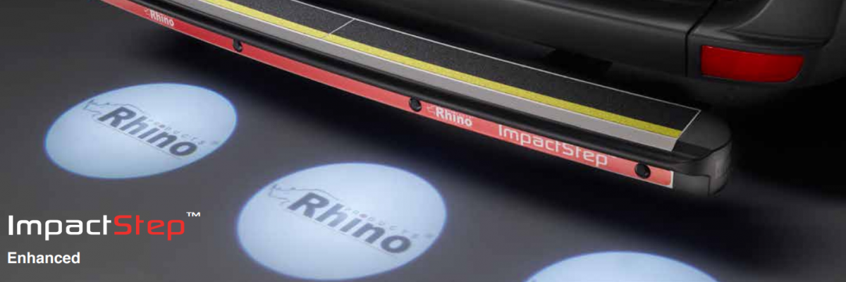 Rhino Safety Steps Enhanced